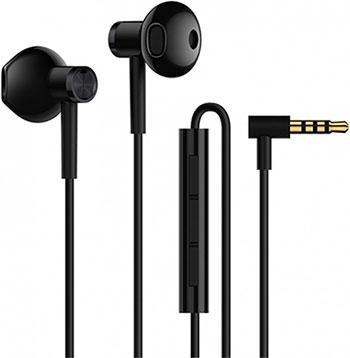 Вставные наушники Xiaomi Mi Dual Driver Earphones (jack) (Black) (ZBW4407TY)