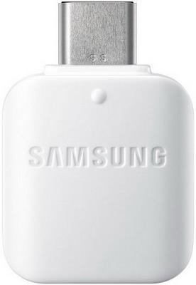 Переходник Samsung OTG TypeC->USB white (EE-UN930BWRGRU) переходник type c samsung ee un930bwrgru плоский