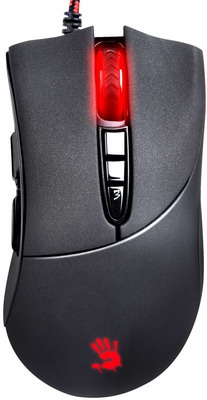 Фото - Мышь игровая проводная A4Tech Bloody V3 черный мышь проводная a4tech bloody a90 blazing чёрный usb