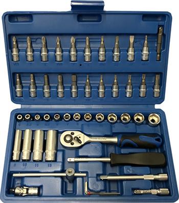 Набор инструмента для автомобиля Союз 1045-20-S48C набор автомобильных инструментов союз 48 предм 1045 20 s48c синий