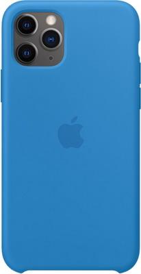 Фото - Чехол (клип-кейс) Apple для iPhone 11 Pro Silicone Case - Surf Blue MY1F2ZM/A чехол клип кейс apple silicone case для iphone 8 7 цвет product red красный mqgp2zm a