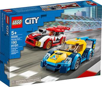 Конструктор Lego City Nitro Wheels Гоночные автомобили 60256 конструктор city lego lego mp002xb00c9t