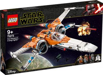 Конструктор Lego, Star Wars TM Истребитель типа Х По Дамерона 75273, Чехия  - купить со скидкой