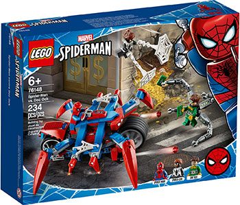 Конструктор Lego Super Heroes Человек-Паук против Доктора Осьминога 76148 конструктор lego super heroes mighty micros 76070 чудо женщина против думсдэя