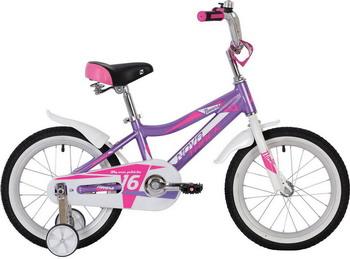 цена на Велосипед Novatrack 18'' NOVARA алюм. лиловый 185ANOVARA.LC20