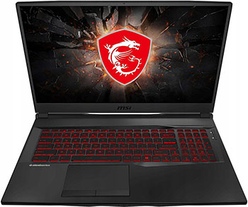 Ноутбук MSI GL75 10SCXR-007XRU (9S7-17E822-007) /Black