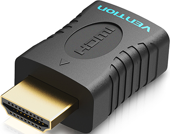 Фото - Адаптер-переходник Vention HDMI v2.0 19M/19F (AIAB0) переходник vention hdmi mini