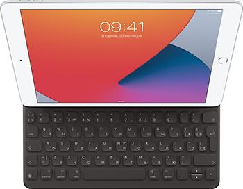 Чехол-обложка со встроенной клавиатурой Apple Smart Keyboard for iPad (7th generation) and Air (3rd - Russian MX3L2RS/A