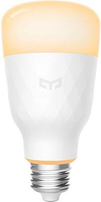 Лампочка Xiaomi Yeelight Smart Led Bulb 1S (White) (YLDP15YL) белый лампочка xiaomi mi smart led bulb warm white gpx4026gl