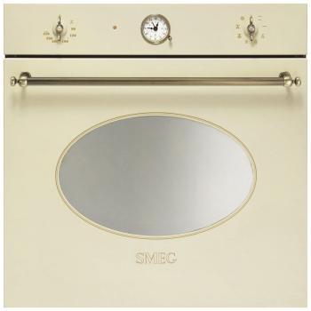 Встраиваемый электрический духовой шкаф Smeg SFT 805 PO электрический шкаф smeg sf750po кремовый фурнитура латунная