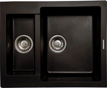 Кухонная мойка LAVA D.1 (BASALT чёрный) цена