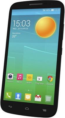 Смартфон Alcatel 7050Y Pop S9 8Gb черный partner чехол flip case alcatel 5036 pop c5 черный