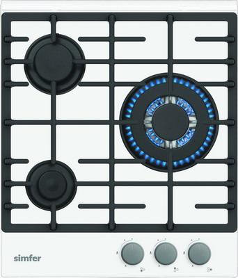 Встраиваемая газовая варочная панель Simfer H 45 L 35 W 511