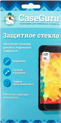 Защитное стекло CaseGuru для Samsung J5 Prime Full Screen Black