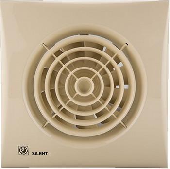 Вытяжной вентилятор Soler & Palau Silent-100 CZ (слоновая кость) 03-0103-169