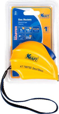 Рулетка Kraft 5м х 19мм Master KT 700755 недорого