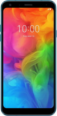 Смартфон LG Q7 синий