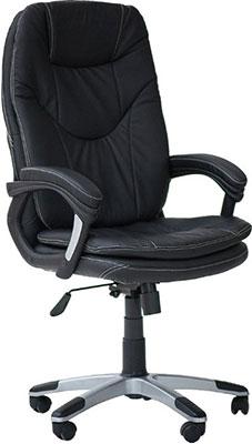 Кресло Tetchair COMFORT (кож/зам черный PU-C 36-6) кресло tetchair runner кож зам ткань черный жёлтый 36 6 tw27 tw 12