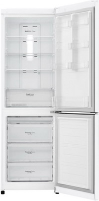 Двухкамерный холодильник LG GA-B 419 SQGL белый двухкамерный холодильник lg ga b 459 sqcl белый