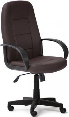 Кресло Tetchair СН747 (кож/зам Коричневый PU C 36-36) компьютерное кресло tetchair сн747 серый