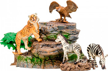 Набор фигурок животных Masai Mara MM201-015 серии ''Мир диких животных''