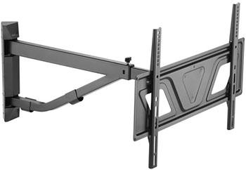 Фото - Угловой кронштейн ABC Mount для LED/LCD телевизоров WALLPRO-60 black abc