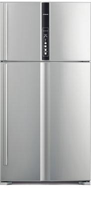 лучшая цена Двухкамерный холодильник Hitachi R-V 722 PU1 SLS