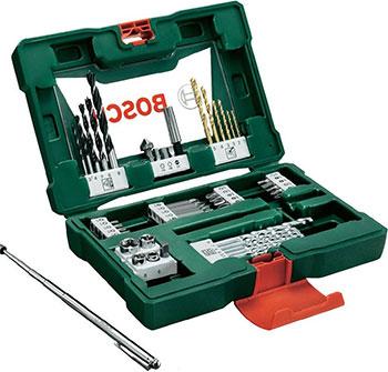 Набор бит и сверл Bosch V-Line Titanium из 48 шт. 2607017314 набор бит и сверел bosch x line 70 2607019329879