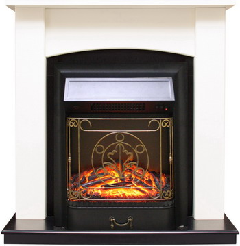 Каминокомплект Royal Flame Baltimore с очагом Majestic BL сл.кость/черный каминокомплект royal flame dallas с очагом majestic bl тем дуб