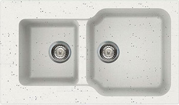 цена на Кухонная мойка Omoikiri Maru 86-2-EV Tetogranit/эверест (4993290)