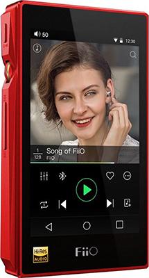 MP3 плеер FiiO Hi-Fi X5 III красный mp3 плеер fiio hi fi x5 iii титаниум