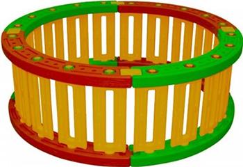 Пластиковый круглый манеж для шаров King Kids KK_RB 6000
