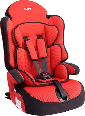 Автокресло Siger Прайм изофикс красный 9-36 кг автокресло siger прайм изофикс art мил 9 36 кг