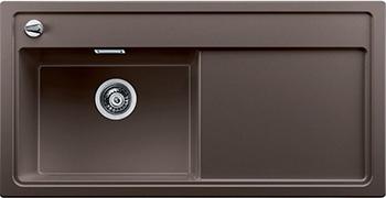 Кухонная мойка BLANCO 523915 ZENAR XL 6S-F чаша слева SILGRANIT кофе с кл.-авт. InFino