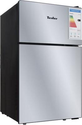 все цены на Двухкамерный холодильник TESLER RCT-100 MIRROR онлайн