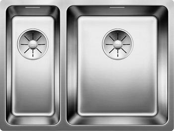 Кухонная мойка BLANCO ANDANO 340/180-U (чаша справа) нерж.сталь зеркальная полировка 522977