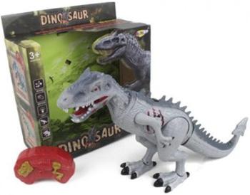 Робот-динозавр Наша игрушка NY 022-A робот электронный наша игрушка барабанщик со звуком 58645