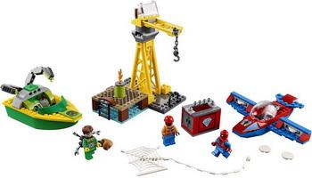 Конструктор Lego Человек-паук: похищение бриллиантов Доктором Осьминогом 76134 Super Heroes Spider-ma