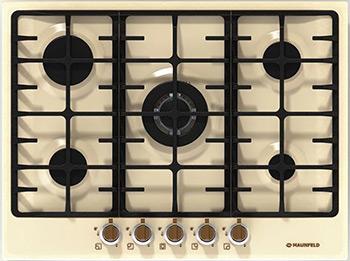 Встраиваемая газовая варочная панель MAUNFELD MGHE.75.78 RIB button front striped rib knit tee