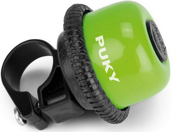Звонок Puky G 20 9854 kiwi салатовый передняя корзина puky lk l 9109 для беговелов