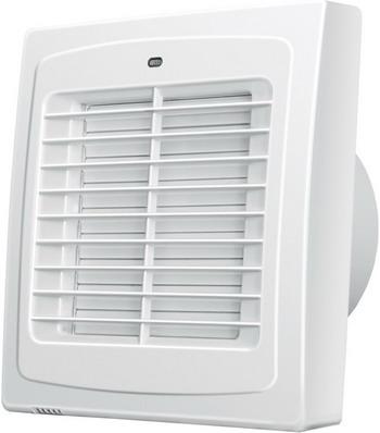 Вытяжной вентилятор BLAUBERG Auto 125 H белый цена и фото