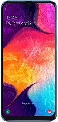 Смартфон Samsung Galaxy A50 128GB SM-A505F (2019) синий смартфон samsung galaxy a50 64gb sm a505f 2019 черный