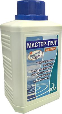 Средство для очистки Маркопул МАСТЕР-ПУЛ Кемиклс 0 5л бутылка 4 в 1 М19