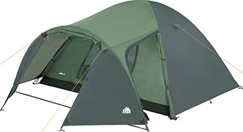 Палатка кемпинговая Trek Planet Lima 4 зеленый 70185 палатка trek planet lima 3