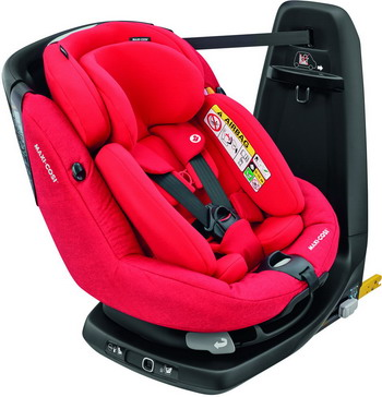 Автокресло Maxi-Cosi Axiss Fix Plus Nomad Red (45 см-105 см) 8025586110 цена