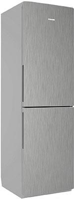 Двухкамерный холодильник Позис RK FNF-172 серебристый металлопласт ручки вертикальные