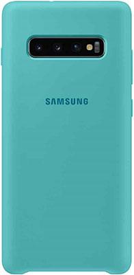 Чехол (клип-кейс) Samsung S 10 (G 973) SiliconeCover green EF-PG 973 TGEGRU