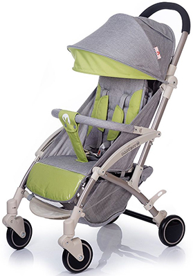 Коляска Babyhit ALLURE LIGHT GREY GREEN