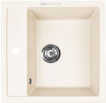 Кухонная мойка Respecta Cubo RC-51 слоновая кость RC51.109 цена