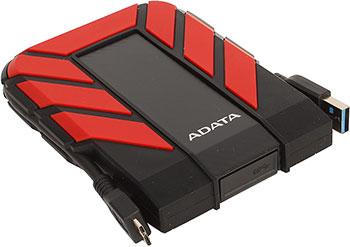 Фото - Внешний жесткий диск (HDD) A-DATA USB 3.0 1Tb AHD710P-1TU31-CRD HD710Pro DashDrive Durable (5400rpm) 2.5'' черный/красный standard usb 3 0 a male am to usb 3 0 a female af usb3 0 extension cable 0 3 m 0 6 m 1 m 1 5 m 1 8m 3m 1ft 2ft 3ft 5ft 6ft 10ft